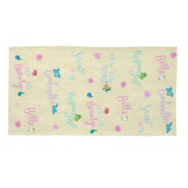 Tapis enfant Disney multicolore Princess & Friends
