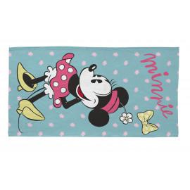 Tapis pour chambre de fille Disney bleu Sweet Minnie