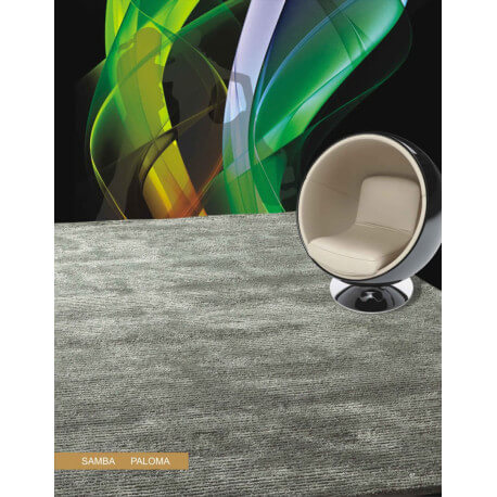 Tapis rectangle uni Samba par Habana Home