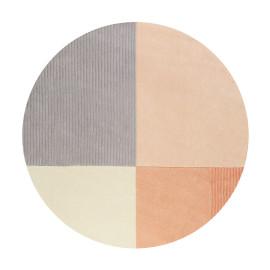 Tapis rond en polyester Esprit géométrique Harlem