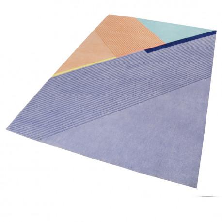 Tapis design en polyester intérieur géométrique XAZ Esprit