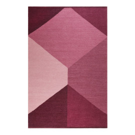 Tapis plat rectangle géométrique Southlandl Kelim Esprit