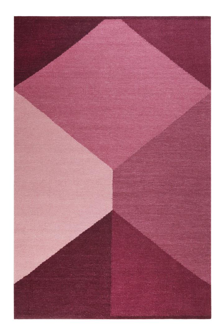 Tapis plat rectangle géométrique Southlandl Kelim Esprit