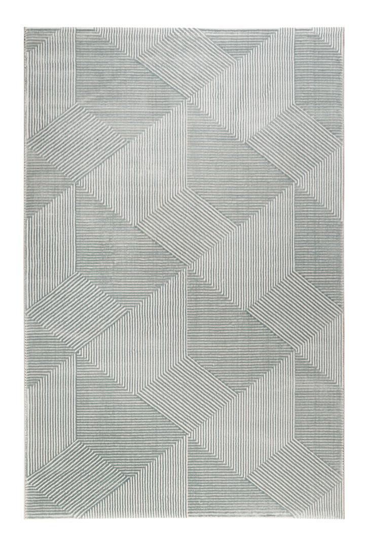 Tapis moderne géométrique pour chambre Velvet Groove Esprit