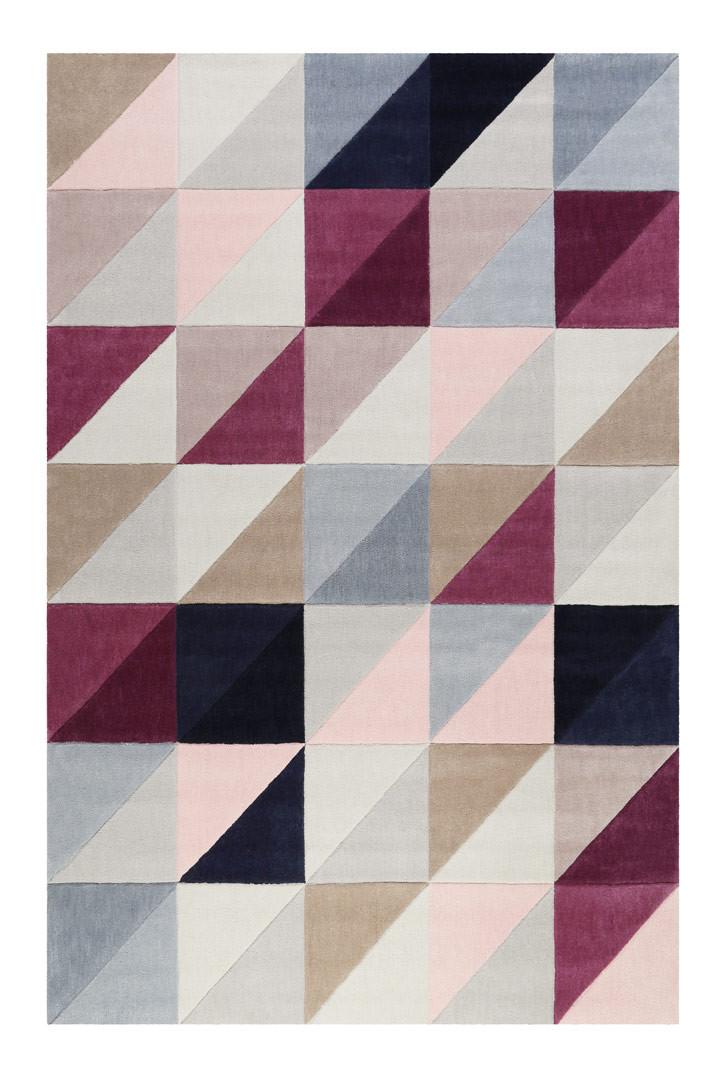 Tapis scandinave géométrique rectangle Fastlane Esprit