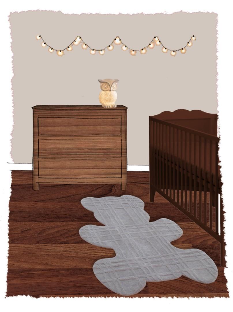 Tapis bébé Teddy II par Nattiot