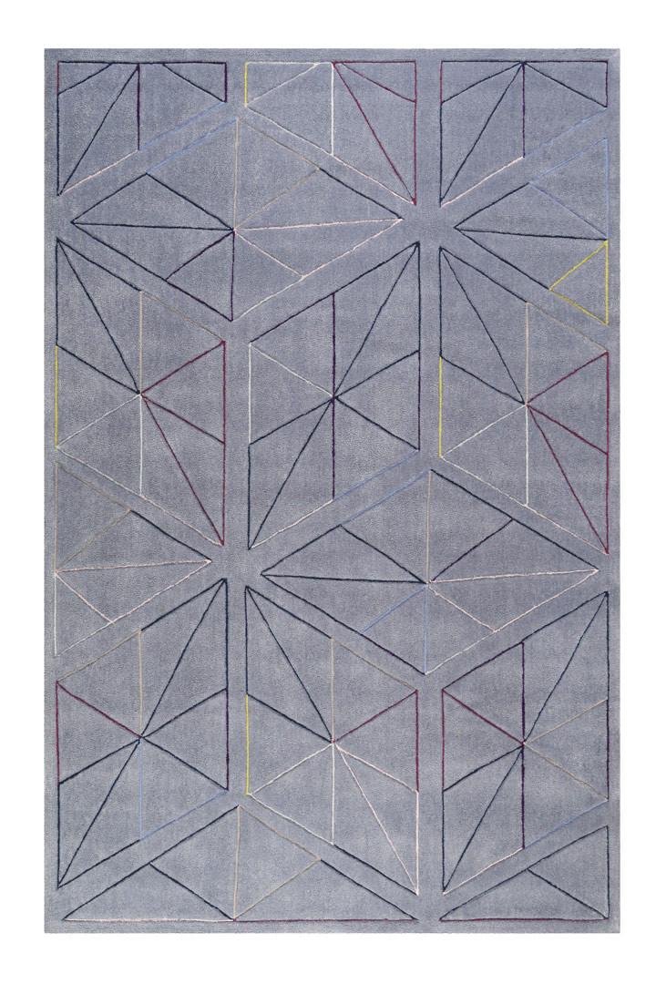 Tapis graphique en polyester design Function Esprit
