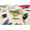 Tapis floral à mèches courtes contemporain Summer Breeze Wecon Home