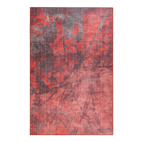 Tapis design rouge rectangle Pepe Wecon Home