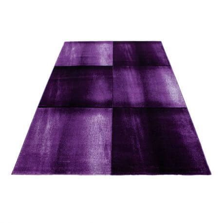 Tapis contemporain graphique rectangle Ourika