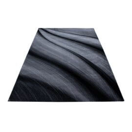 Tapis courbe design intérieur rectangle Regane