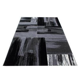 Tapis design à courtes mèches rectangle Pomax