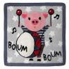 Tapis enfant Boum Boum par Nattiot