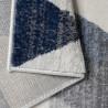 Tapis scandinave à courtes mèches géométrique Olivetto