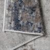 Tapis rayé marron design intérieur Adamo