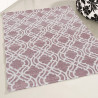Tapis lavable en machine design plat Karine