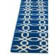 Tapis bleu marine de terrasse design Bari