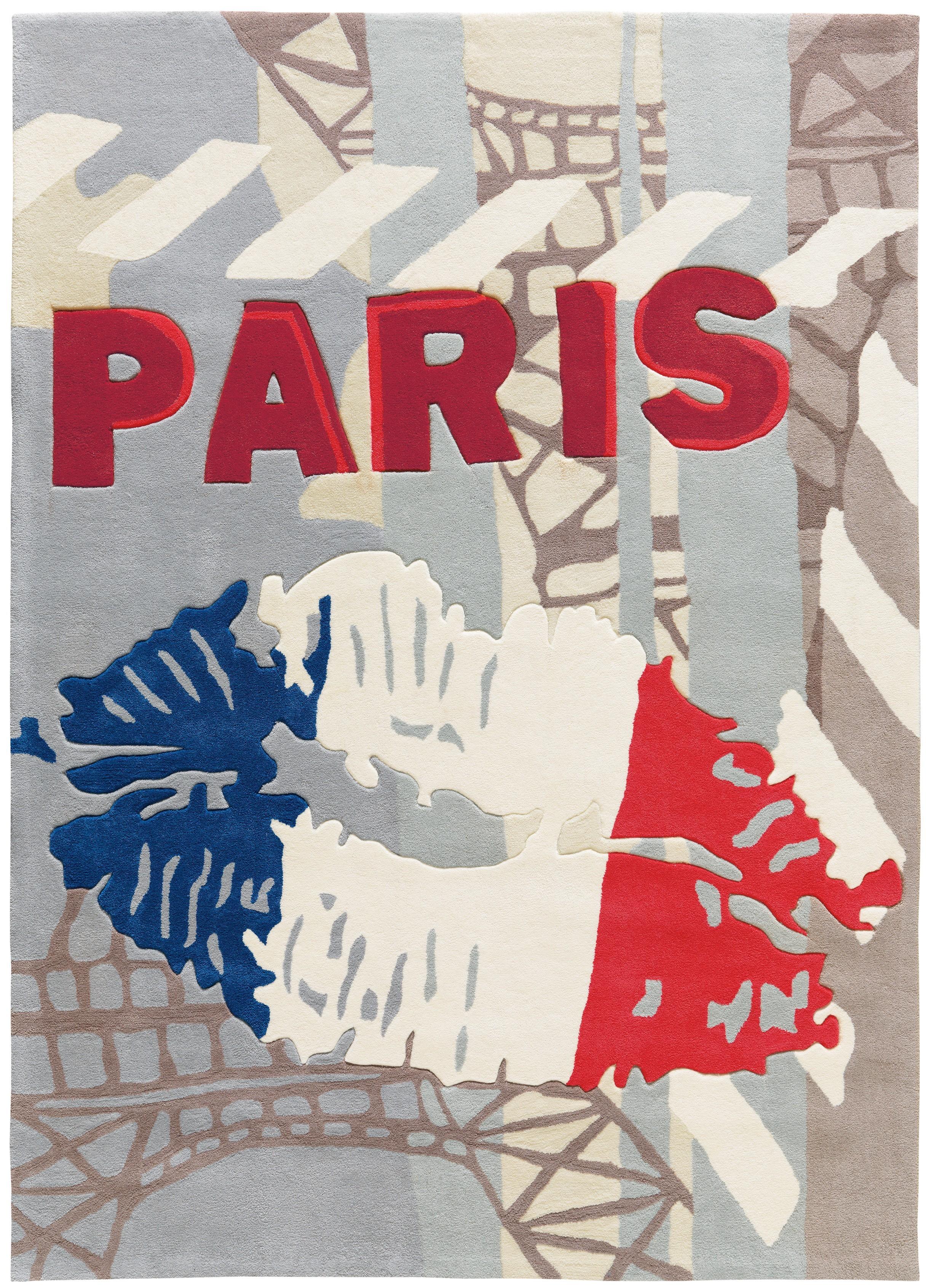 Tapis rectangulaire Down Town Paris par Arte Espina
