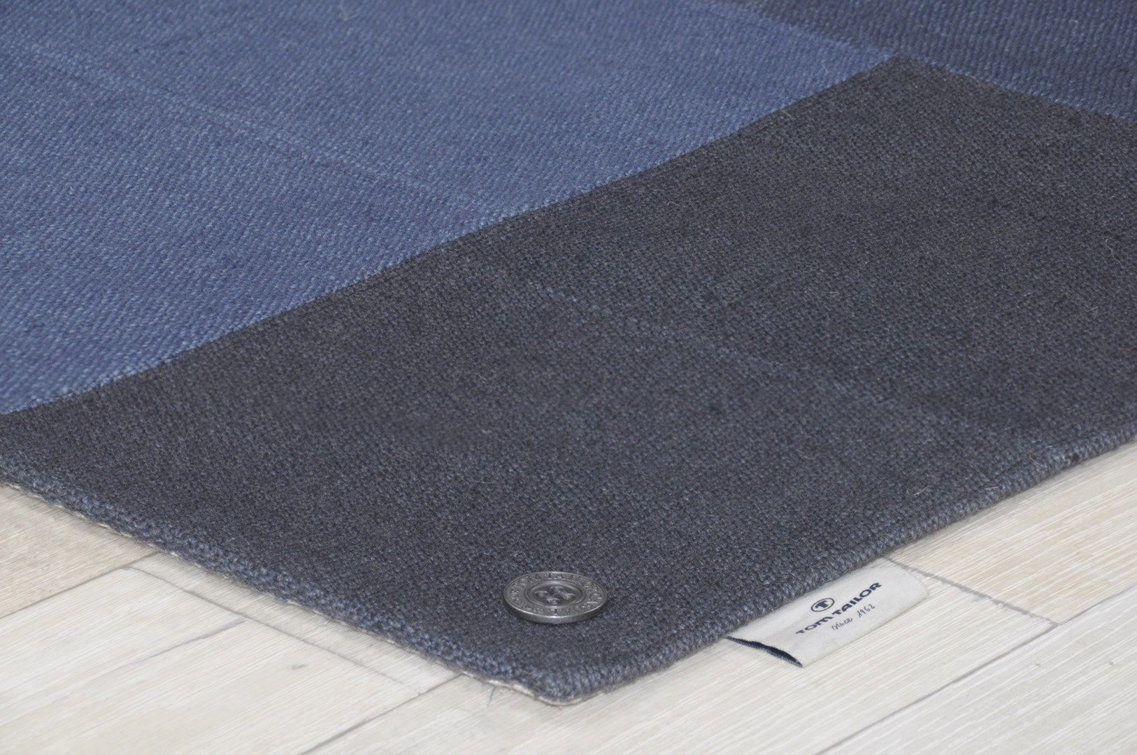 Tapis rectangle Patch Denim par Tom Tailor