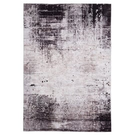 Tapis design gris pour salon Syracuse