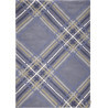 Tapis velours fins moderne Large Check par Tom Tailor