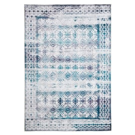 Tapis en coton vintage rectangle rayé Vicence