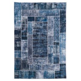 Tapis patchwork de salon ethnique Novare