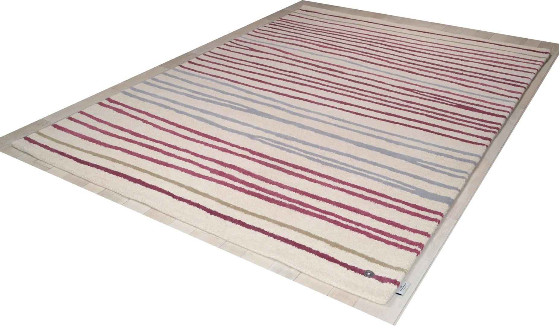 Tapis en laine Easy Stripes par Tom Tailor