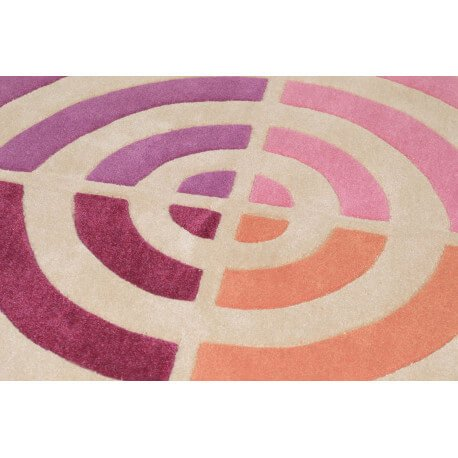 Tapis rond Circle par Tom Tailor