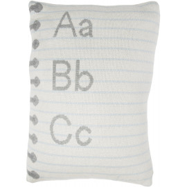 Coussin beige enfant Notebook Lorena Canals