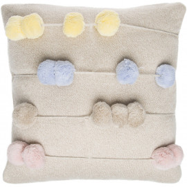 Coussin enfant ivoire Counting Frame Lorena Canals