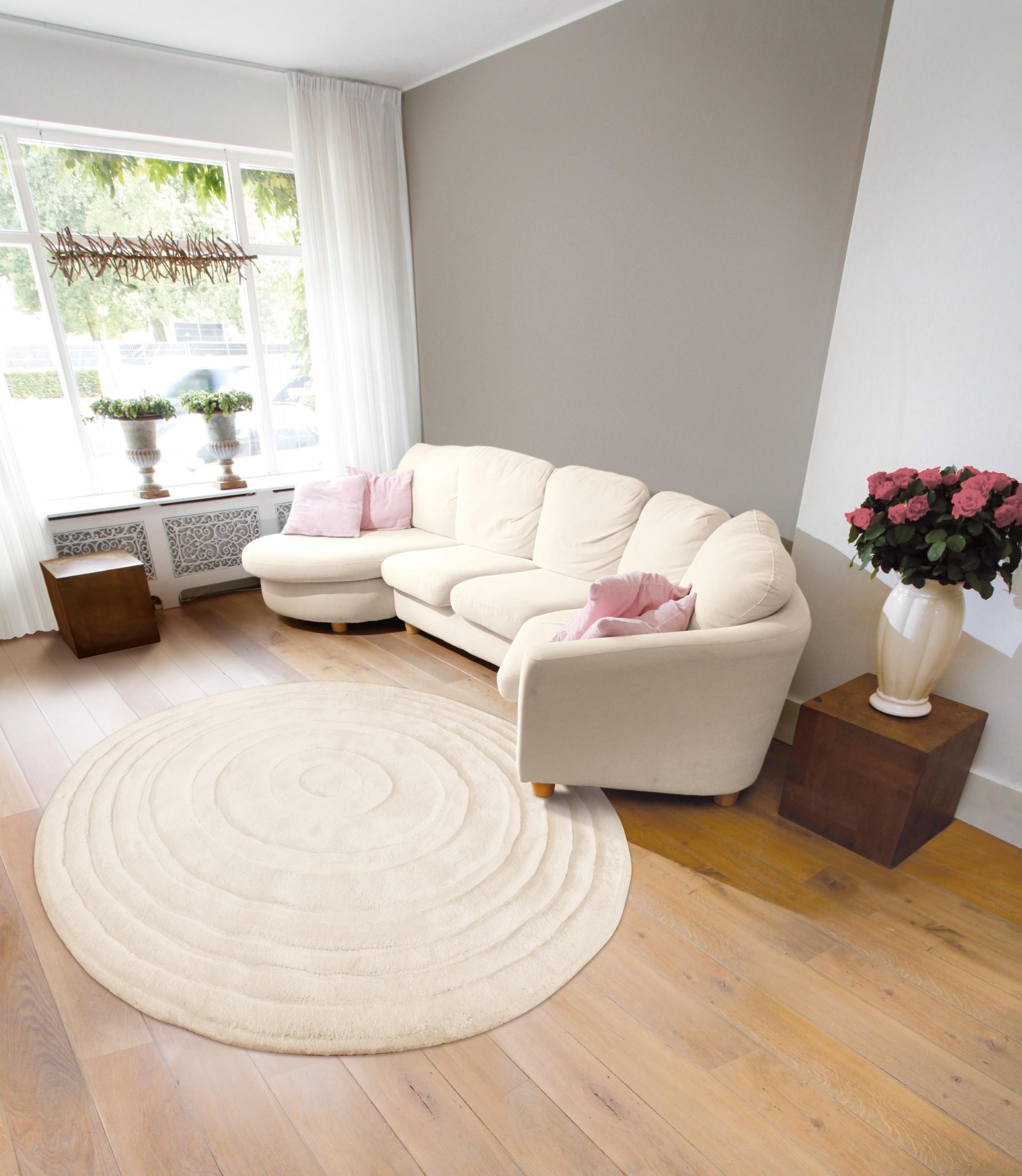tapis rond 150 cm 244 tapis id es. Black Bedroom Furniture Sets. Home Design Ideas