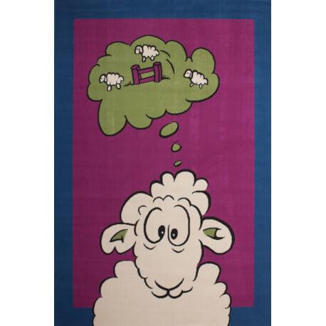 Tapis de chambre enfant Sheep