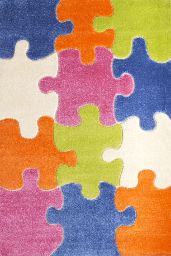 Tapis enfant Puzzle VI