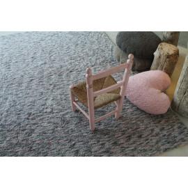 Coussin en coton lavable en machine Heart Lorena Canals