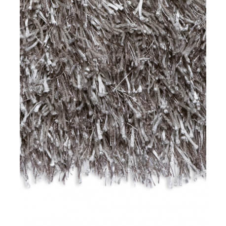 Echantillon du tapis shaggy Beat II argenté par Arte Espina