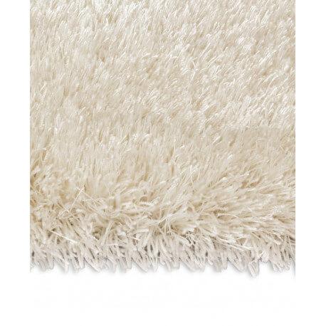 Echantillon du tapis shaggy Swing II blanc par Arte Espina