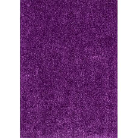 Echantillon du tapis de bureau uni Velvet violet par Lalee