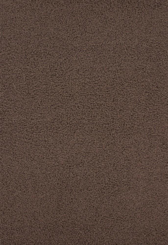 Echantillon du tapis shaggy uni River moka