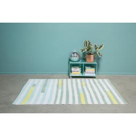 Tapis Lorena Canals design ligne multicolore Oh Lanes