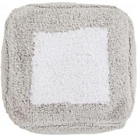 Pouf lavable en machine enfant en coton Marshmallow carré Lorena Canals