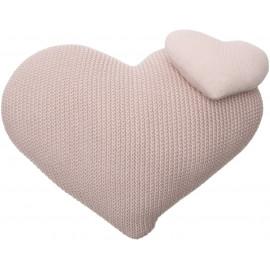 Coussin rose en coton pour enfant Love Lorena Canals