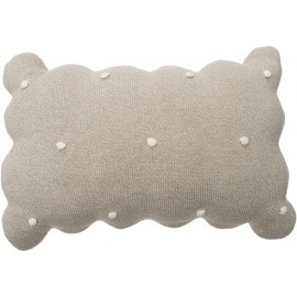 Coussin rectangle pour enfant en coton Biscuit Lorena Canals