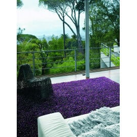 Tapis rectangle violet Rocks Brink & Campman
