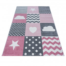 Tapis pour enfant rectangle Julie