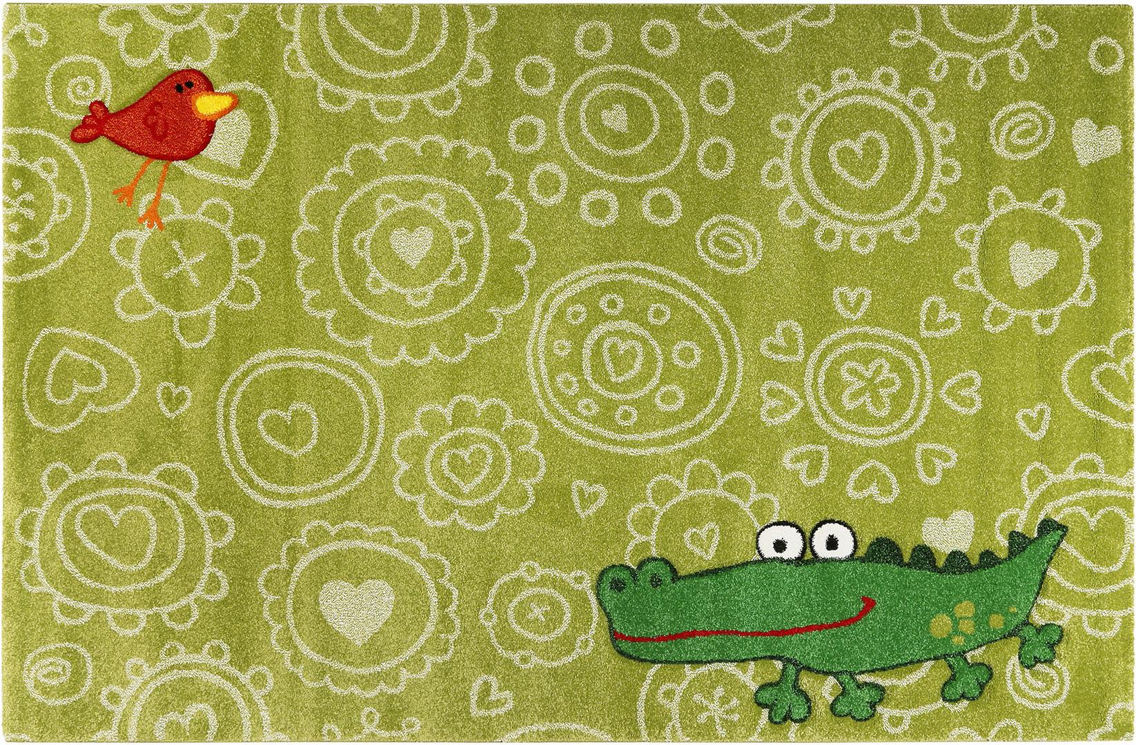 Tapis vert pour enfant Crocodile Sigikid