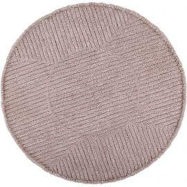 Tapis rond en laine lavable en machine géométrique Tea Lorena Canals