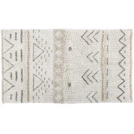 Tapis berbère en laine lavable en machine ethnique Lakota Lorena Canals