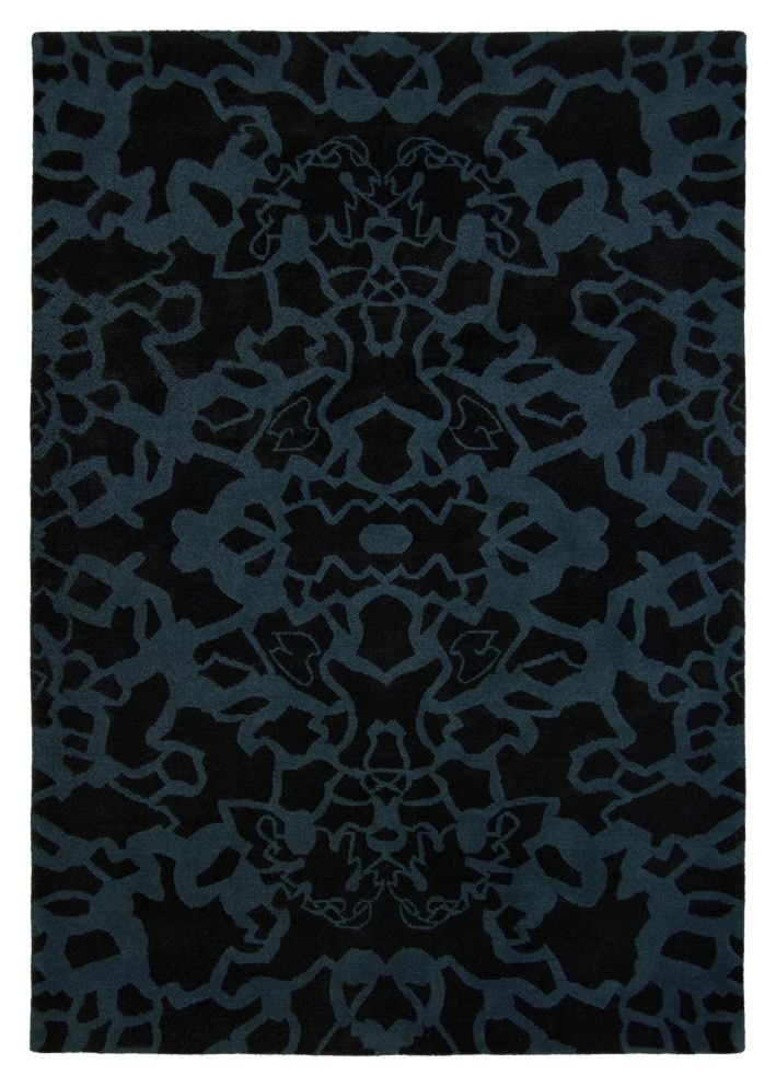 Tapis noir mèches courtes Kodari Elegant Brink & Campman