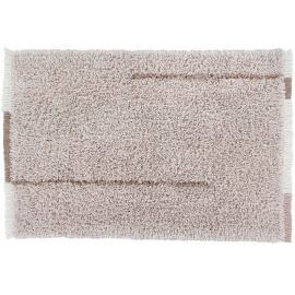 Tapis shaggy en laine lavable en machine avec franges Seasons Lorena Canals